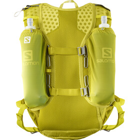 Salomon Agile 12 Backpack Set citronelle/sulphur spring